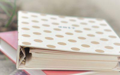 Home binder per organizzare e gestire le attività di casa